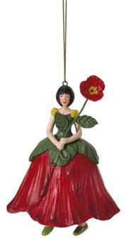 Klaproos bloemenmeisje