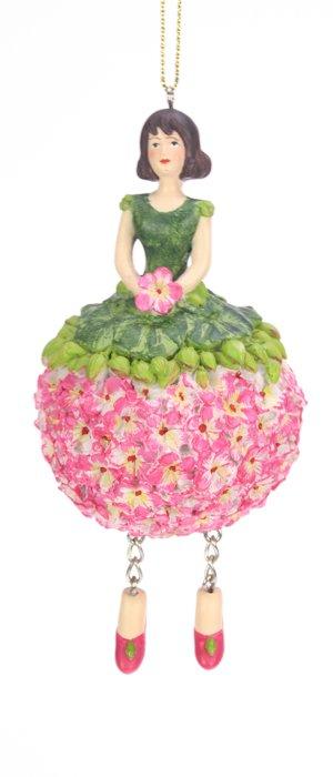 Geranium bloemenmeisje