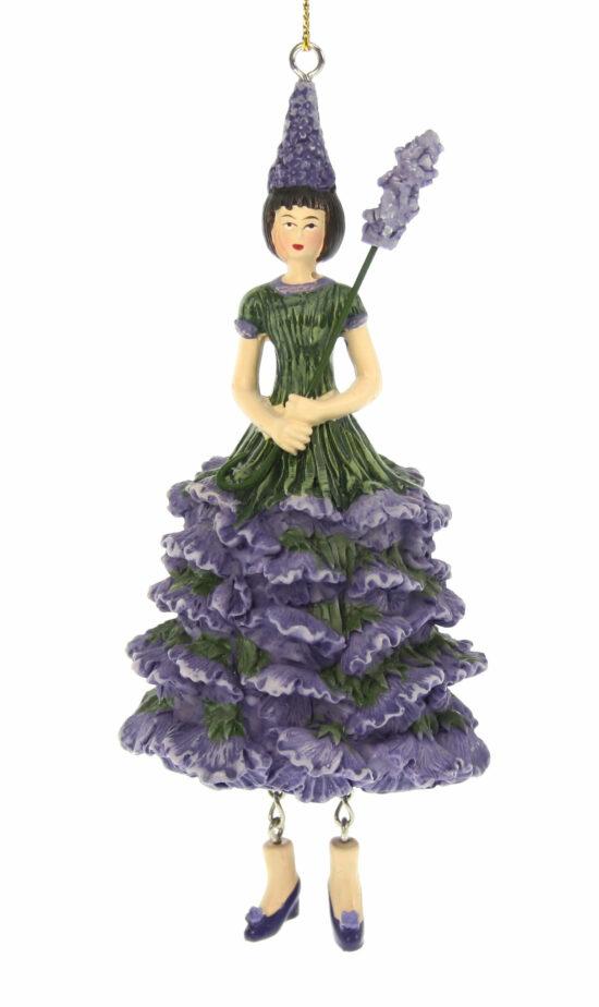 Lavendel bloemenmeisje