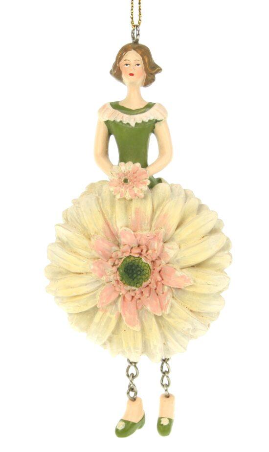 Gerbera bloemenmeisje licht roze
