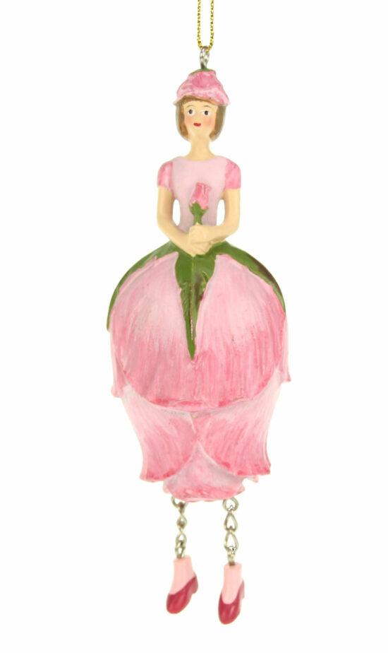 Rozenknop bloemenmeisje Roze