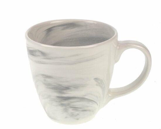 Beker gemarmerd-grijs