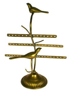 Sieradenrek Vogeltje goudkleur