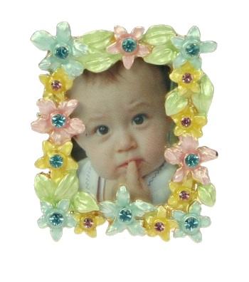 Fotolijstje mini rh bloemmulti