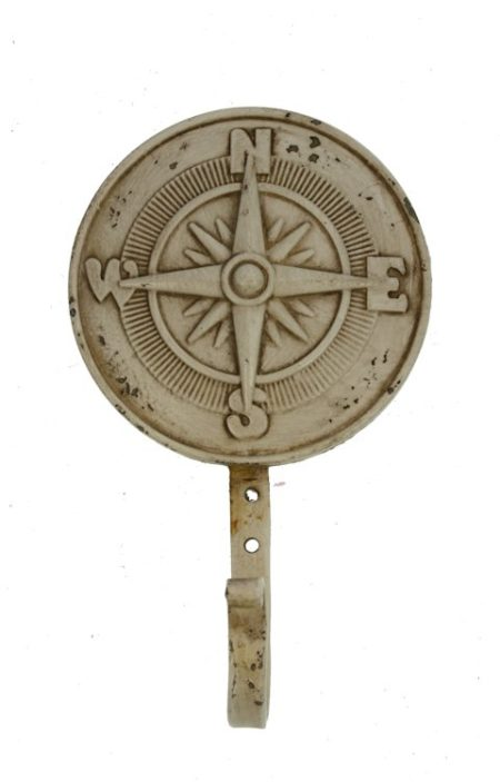 Wandhaak metaal Kompas