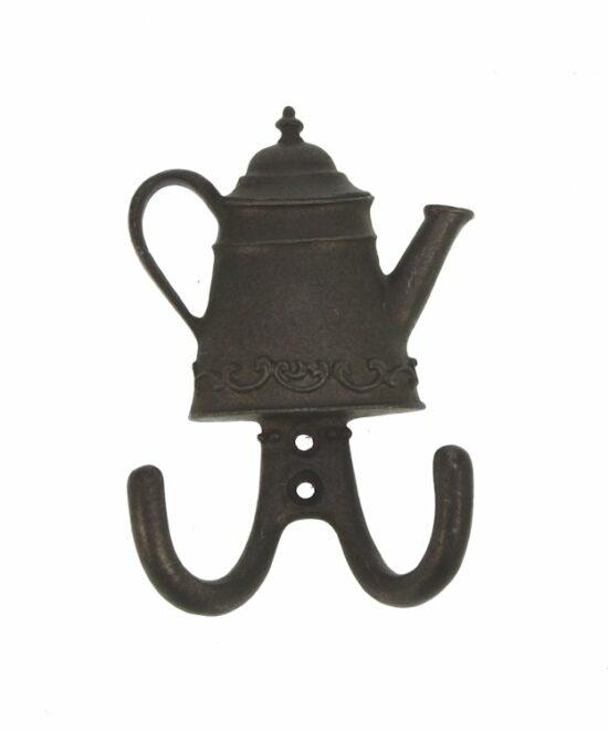 Wandhaak metaal Koffiepot