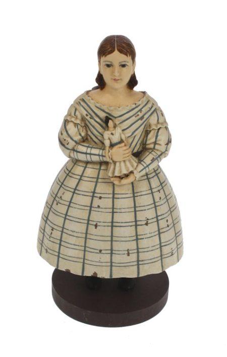 Meisje kandelaar jurk
