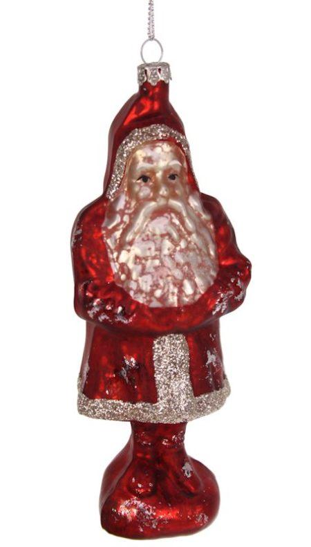 Kerstbal Kerstman staand