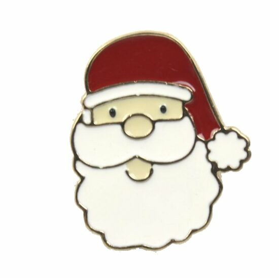 Kerst pin Kerstman