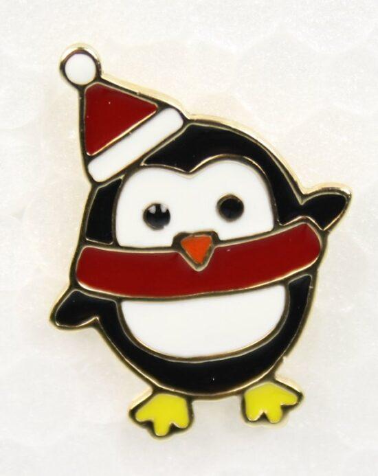Kerst pin Pinguïn