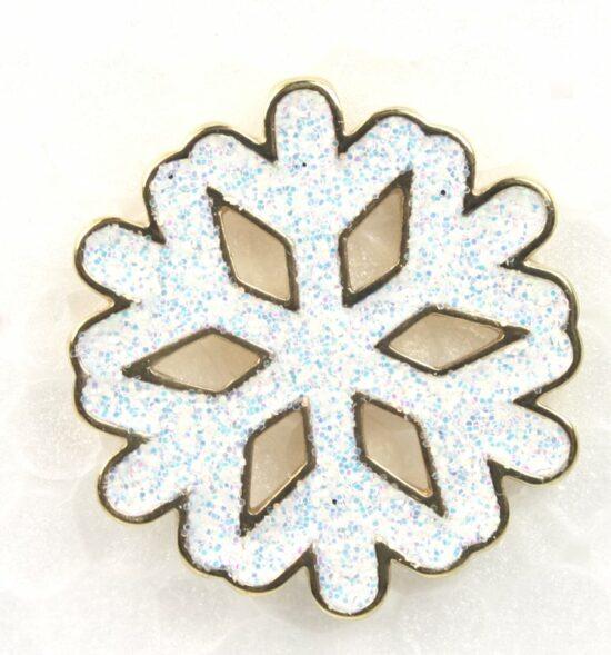 Kerst pin Sneeuwvlok