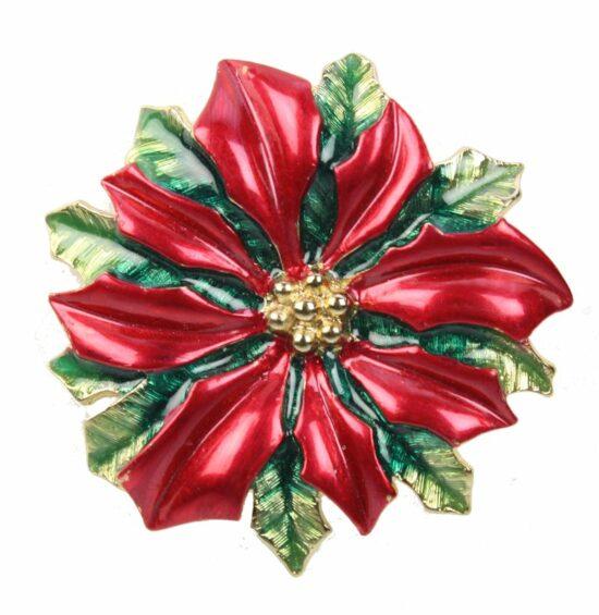 Kerst broche Kerstroos