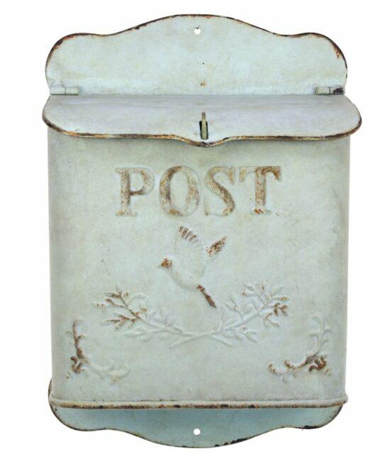 Nostalgische brievenbus antique groen