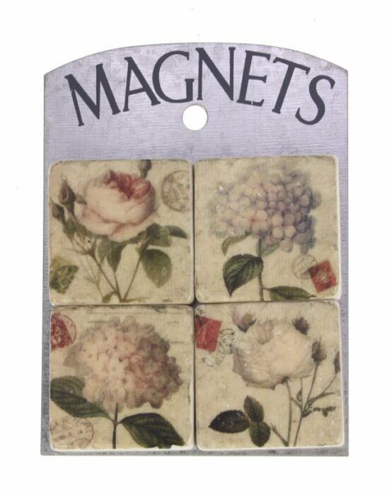 Magneetjes Rozen en hortensia