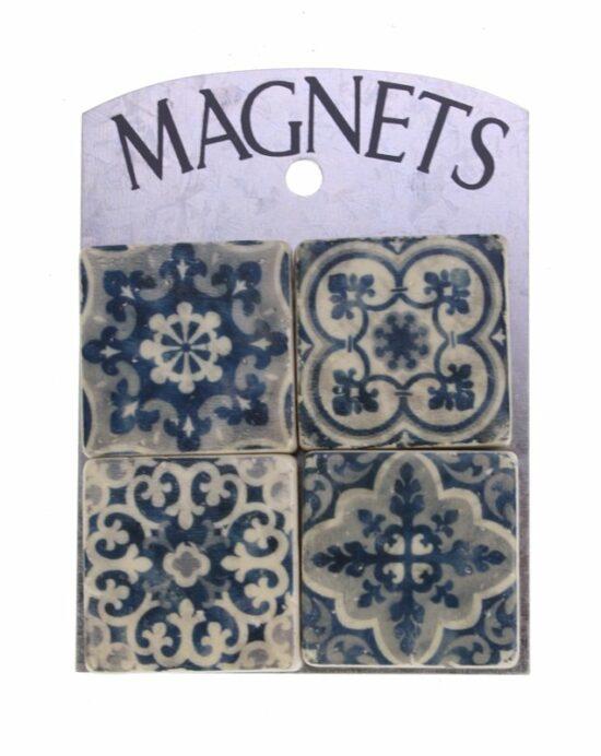 Magneetjes Blauw wit