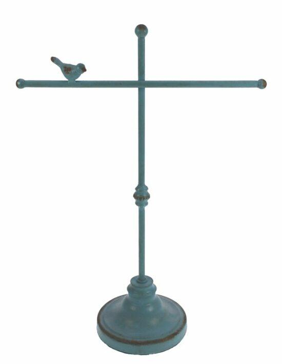 Sieradenrek met vogel turquoise