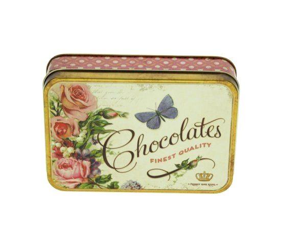 Blikje Chocolates & Roses