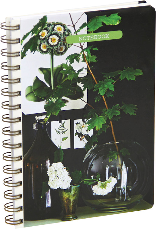 Notebook Botanical Style