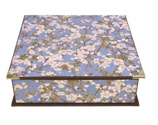 Doos Japanse bloesem 23,5x22,5x7cm