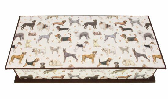 Doos honden 26x13x5,6cm