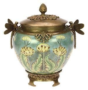 Pot rond Libelle Art Nouveau