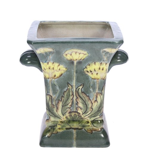 Cachepot Papavers Art Nouveau