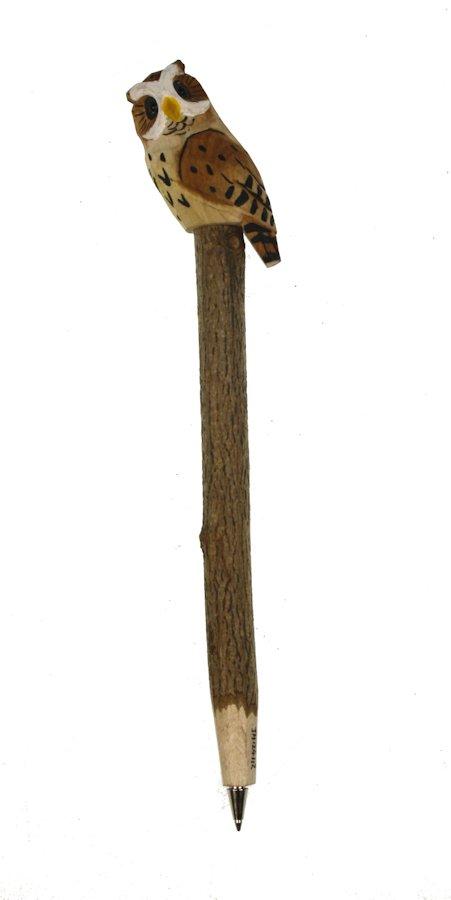 Pen hout Uil