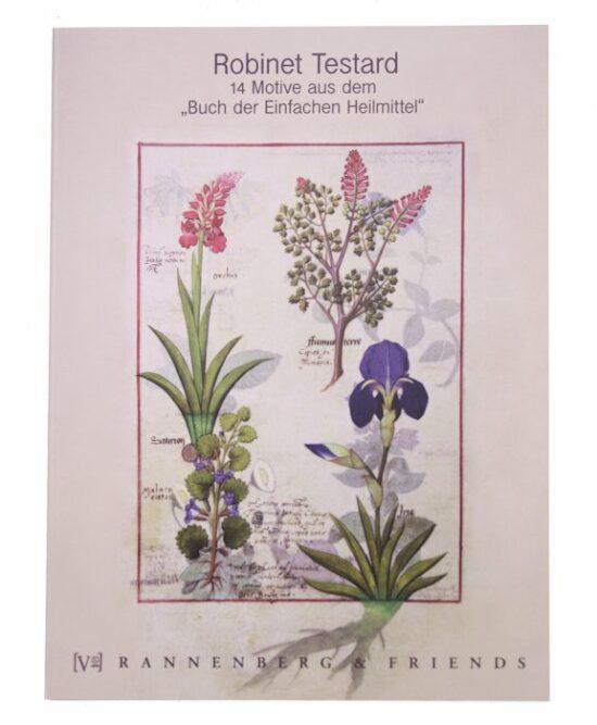 Boekje enkele kaarten Testard Flowers