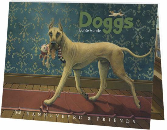 Boekje enkele kaarten Honden