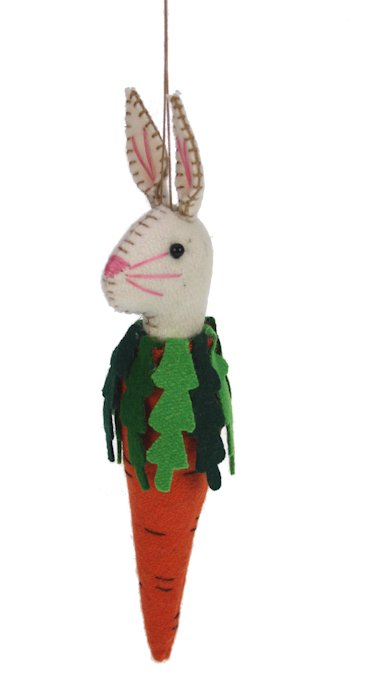 Wortel met konijn