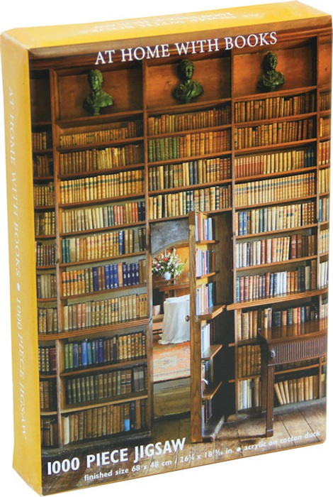 At home with Books puzzel (1000 stuks)