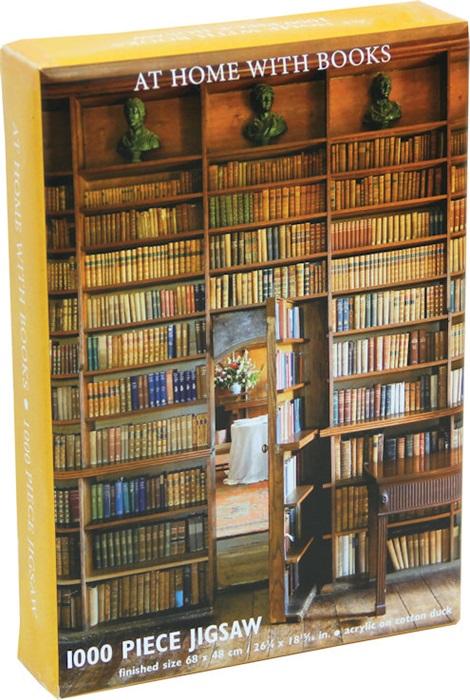 Puzzel 1000 stukjes afbeelding Bibliotheek