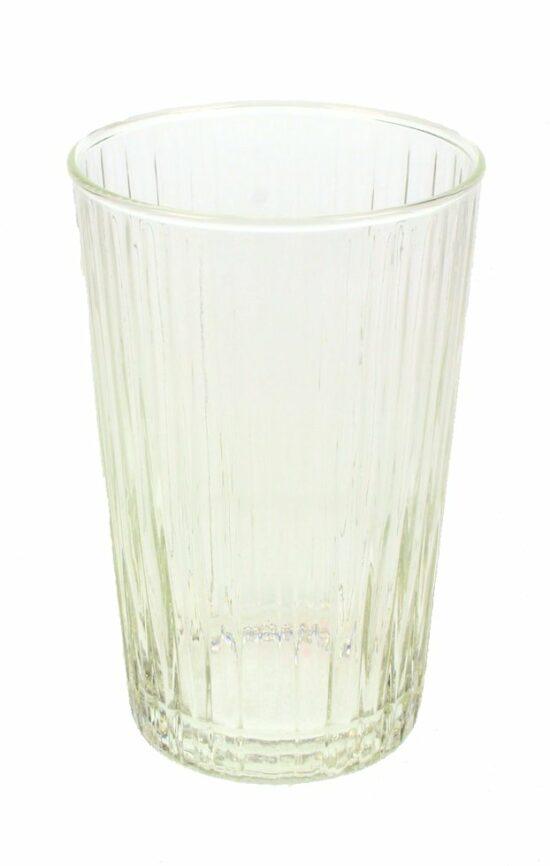 Glas helder gestreept