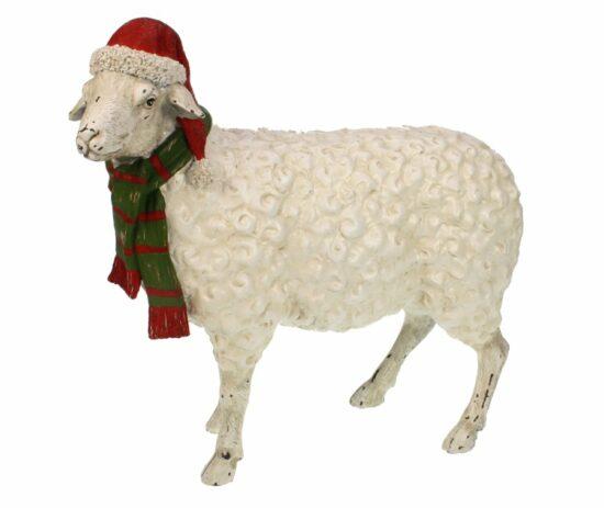 Decoratief kerst schaap