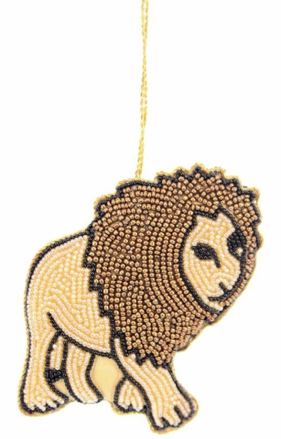 leeuw ornament hangend