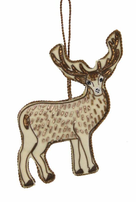 Hert ornament hangend