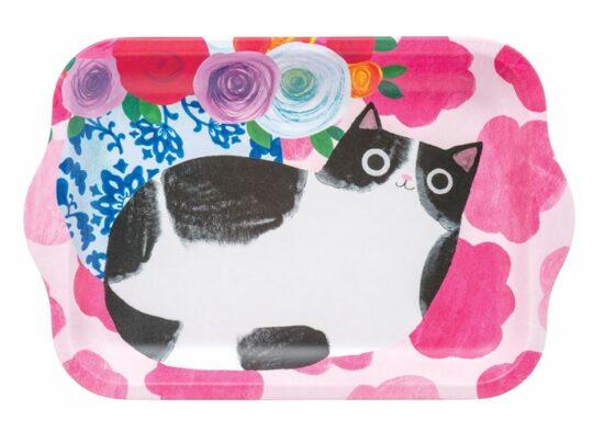 Dienblad met kat