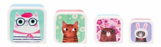 Snackdoosjes Planet Cats