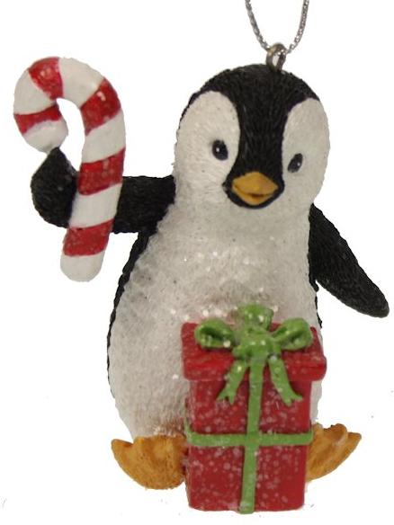 Pinguïn kerstornament