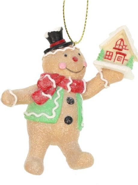Kerst ornament peperkoekenmannetje
