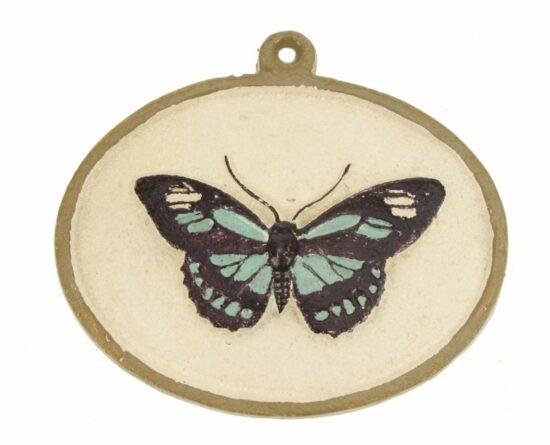 Ornament vlinder gietijzer