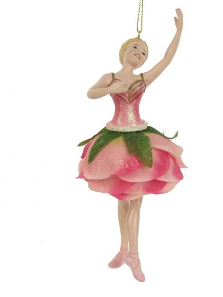 Ornament rozenmeisje lichtroze